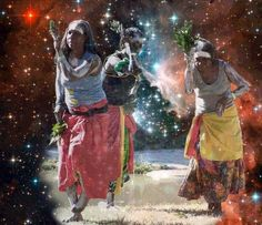 Although we are around the world, we are connected by the stars in the sky and the rhythm in our hearts