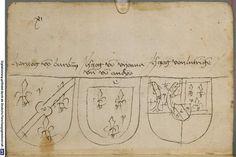 Ortenburger Wappenbuch Bayern, 1466 - 1473 Cod.icon. 308 u  Folio 230v