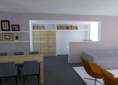 bureau in de woonkamer | Architectuur | Pinterest | Bureaus and House