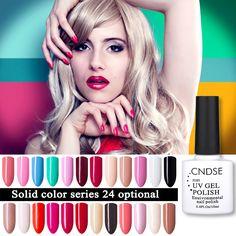 10 ML de Uñas de Gel 96 Colores Sólidos de Moda de Uñas de Gel UV Empapa del polaco Vernish Semi Permanente LED Esmalte de Uñas Laca Gelpolish