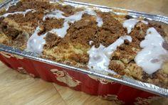 Super Simple Cinnamon Streusel Coffee Cake Bread #Recipe