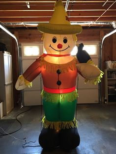 Shop christmas inflatables gemmy inflatables yard for Animated scarecrow decoration