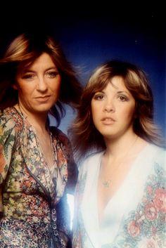 Stevie Nicks with Christine McVie