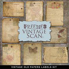 Free Vintage Paper Pieces.