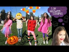 5 DIY LAST MINUTE HALLOWEEN COSTUMES! Under $20 & 20 Minutes! - YouTube