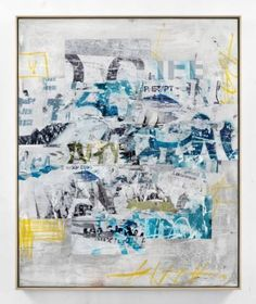 "Saatchi Art Artist David Fredrik Moussallem; Collage, ""mask"" #art"
