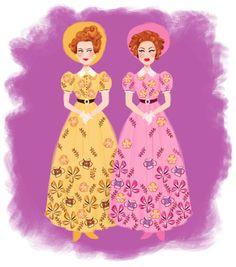 Cinderella - The Wicked Stepsisters by DylanBonner.deviantart.com on @DeviantArt