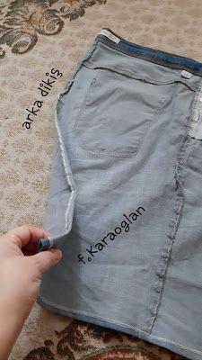 Tatlı CaDı: Yıpranan Kot Pantolonları Atmıyoruz Fashion, Moda, Fashion Styles, Fashion Illustrations