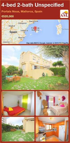 Unspecified for Sale in Portals Nous, Balearic Islands, Spain with 4 bedrooms, 2 bathrooms - A Spanish Life Murcia, Valencia, Barcelona, Balearic Islands, Living Area, Portal, Terrace, Windows, Bathroom
