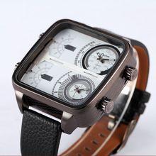 Auténtico OULM 3377 Relojes cuadrados Montres de Marque de Luxe Relojes Lujo Marcas hombres deportes Relogio Masculino originales de época dz(China (Mainland))
