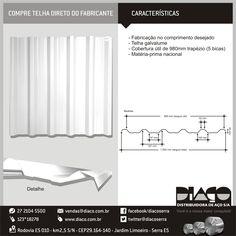 Grupo Diaço - Compre telha direto do fabricante ! #diaco #serra #es