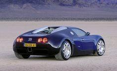 1999 Bugatti EB 18-4 Veyron Concept
