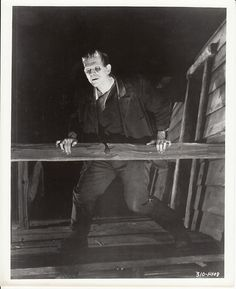 1931 Boris Karloff Frankenstein Early Horror Film Photograph as Monster Vintage Boris Karloff Frankenstein, Frankenstein 1931, James Whale, Lon Chaney Jr, Frankenstein's Monster, Monster Mash, Horror Icons, Horror Posters, Horror Art
