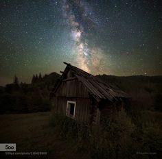 Old house - Pinned by Mak Khalaf Landscapes Ukrainehouselandscapemilky waymountainsnightoldstarsДземброняКарпатыУкраинагорызвездымлечный путьночь by PolyushkoSergey