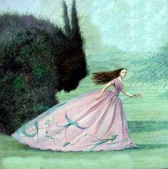 Inspiration Artistique, Fairytale Art, Children's Book Illustration, Art Illustrations, Beauty And The Beast, Beauty Beast, Illustrators, Disney, Book Art