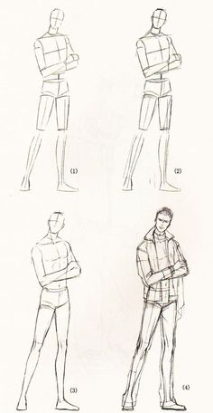 How To Draw Fashion Sketches For Beginners HOW TO DRAW BODY SHAPES: 30 Tutorials For Beginners<br>Drawing and especially illustrating the human body is considered Anatomy Sketches, Body Sketches, Drawing Sketches, Art Drawings, Drawing Male Anatomy, Drawing Art, Drawing Reference Poses, Drawing Poses, Drawing Tips