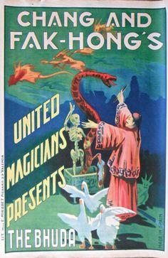 Chang and FAK Hong's United Magicians Presents The Bhuda Original Old | eBay