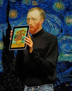 Oh what Van Gogh might have created with an IPad!