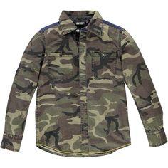 TEMPLETON BOYS HI BLOUSE available at www.tumblendry.com #boys #camo #tumblendry