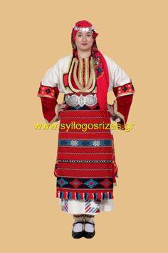 Εργαστήρι Υφαντικής, Παραδοσιακού Κεντήματος, Πλεκτών και κατασκευής παραδοσιακών φορεσιών    www.syllogosrizes.gr Folk Dance, Greece, Costumes, Traditional, Clothes, Fashion, Greece Country, Outfits, Moda