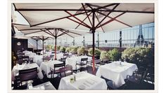 Situated at Avenue Montaigne on the roof of the Champs-Elysées theatre, Maison Blanche boasts one of the most magnificent panoramas in the w...