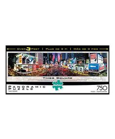 Times Square Panorama 750-Piece Puzzle