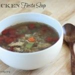 Chicken Fiesta Soup | Simple Foody | #prepbloggers #soup #recipe