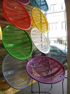 SOLAIR CHAIR or MOTEL CHAIR retro vintage round plastic patio chairs for sale Toronto