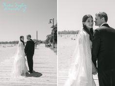Toronto Wedding. The Beach. Boardwalk.