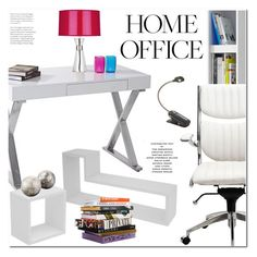 """""""Work Hard: Home Office"""" by paculi ❤ liked on Polyvore featuring interior, interiors, interior design, home, home decor, interior decorating, Robert Abbey, Anna Sui, home office and Home"""