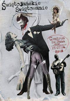 Plakat Jacka Staniszewskiego, Świętojanskie świętowanie.