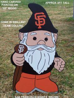 San Francisco Giants Gnome