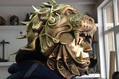 Mask HelmetGladiator HelmetPredator HelmetLion by BirdArtBulgaria