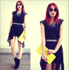 BLACK IS THE NEW BLACK. (by Masha Sedgwick) http://lookbook.nu/look/3972720-BLACK-IS-THE-NEW-BLACK