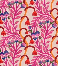 50 Ideas Flowers Blue Wallpaper Illustrations For 2019 Pattern Floral, Motif Floral, Pattern Design, Floral Pattern Wallpaper, Floral Design, Art And Illustration, Pattern Illustration, Flower Illustrations, Motifs Textiles