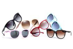 """Sonnenbrillen aus der """"Matt Silk""""-Kollektion von Dolce & Gabbana."""