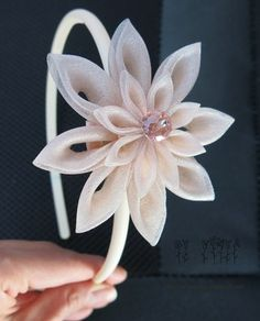 Хана канзаши - цветы из ткани. Украшения ручной | VK