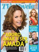 Entrevista de Adamari Lopez en TVyNovelas, en la portada Lucero