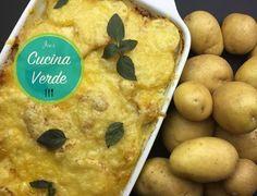 Hackfleisch-Kartoffel Gratin - Rezept von Joes Cucina Verde Dairy, Cheese, Food, Gratin, Peeling Potatoes, Ground Beef Recipes, Kochen, Food Food, Meal