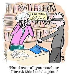 Library Theft...Library Humor