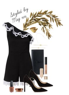 """#88"" by megmctaggart1995 on Polyvore featuring WALL, Yves Saint Laurent, Alexis, Jimmy Choo, Isabel Marant, Vita Liberata, NARS Cosmetics, Eve Lom, OPI and Mark & Graham"