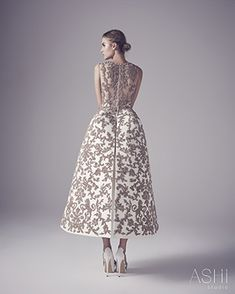 Ashi Studio Couture wedding dresses 2016 - Unique gold couture wedding dress - see the rest of the collection on www.onefabday.com