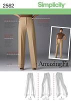 Miss/Miss Petite Pants.  With option for CURVY fit.