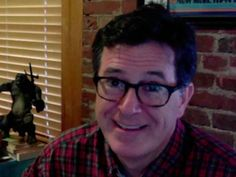 """Ask a Grown Man: Stephen Colbert. Really enjoyed his answers. He wouldn't be so funny when in character without this """"depth"""" when out of character imo."""