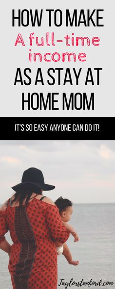 How to Make Money as a Stay at Home Mom. Real jobs that pay real wages from home. #workfromhome #stayathomemom #momlife