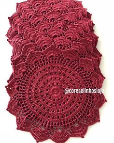 New Crochet Patterns Doily Link Ideas Crochet Doily Patterns, Crochet Doilies, Crochet Flowers, Crochet Stitches, Crochet Round, Knit Or Crochet, Crochet Gifts, Cotton Crochet, Crochet Placemats