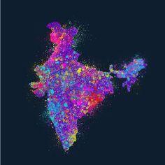 Holi - Indian festival of Clours