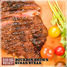 Sweet and Spicy London Broil Recipe - Flank steak seasoned with paprika, brown sugar, chili powder & lime. Cheap, easy & tasty and ready in only 17 minutes! Flank Steak Recipes, Pork Recipes, Cooking Recipes, Steak Marinades, Recipies, Cooking Tips, Carne, London Broil Recipes, Sandwiches