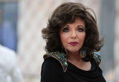 The one and only Joan Collins.  #VanityFair #Oscars