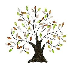 """See our site for more relevant information on """"metal tree art decor"""". It is actually an exceptional spot to learn more. Tree Sculpture, Wall Sculptures, Bronze Sculpture, Tree Wall Decor, Wall Art Decor, Branch Decor, Painting Shower, Metal Tree Wall Art, Metal Artwork"""